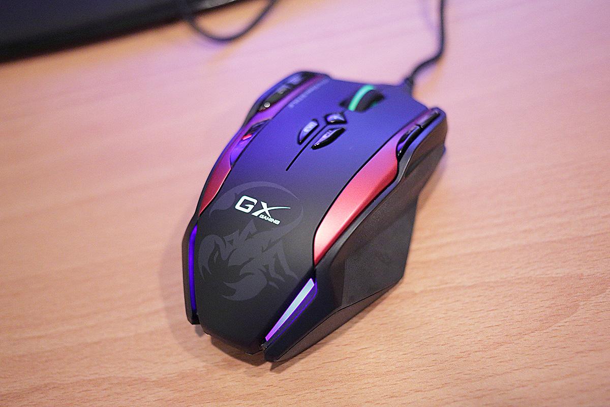 GX Gaming Gila 雷霆蠍 繪圖鼠電競鼠