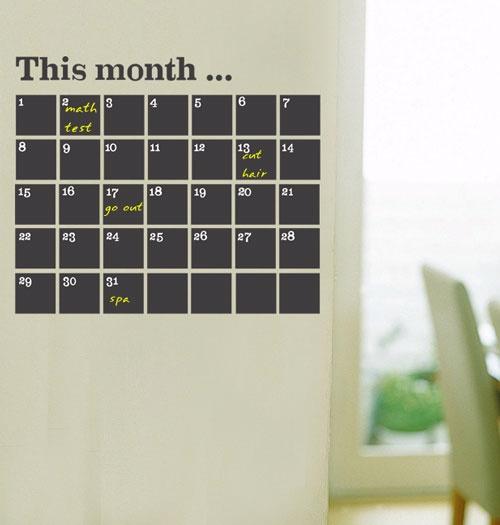 ROYAL壁貼 行事曆留言板