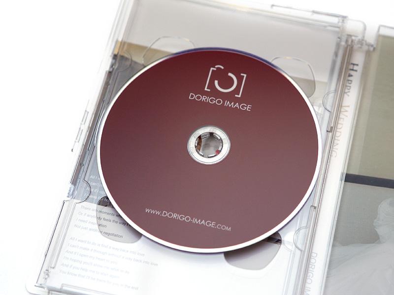 DORIGO IMAGE DVD 封面印刷大量壓片