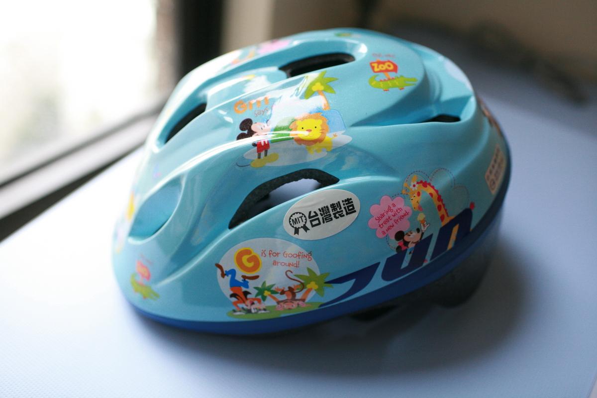 紹軒三歲生日禮物 Giant捷安特 KJ 165 童車