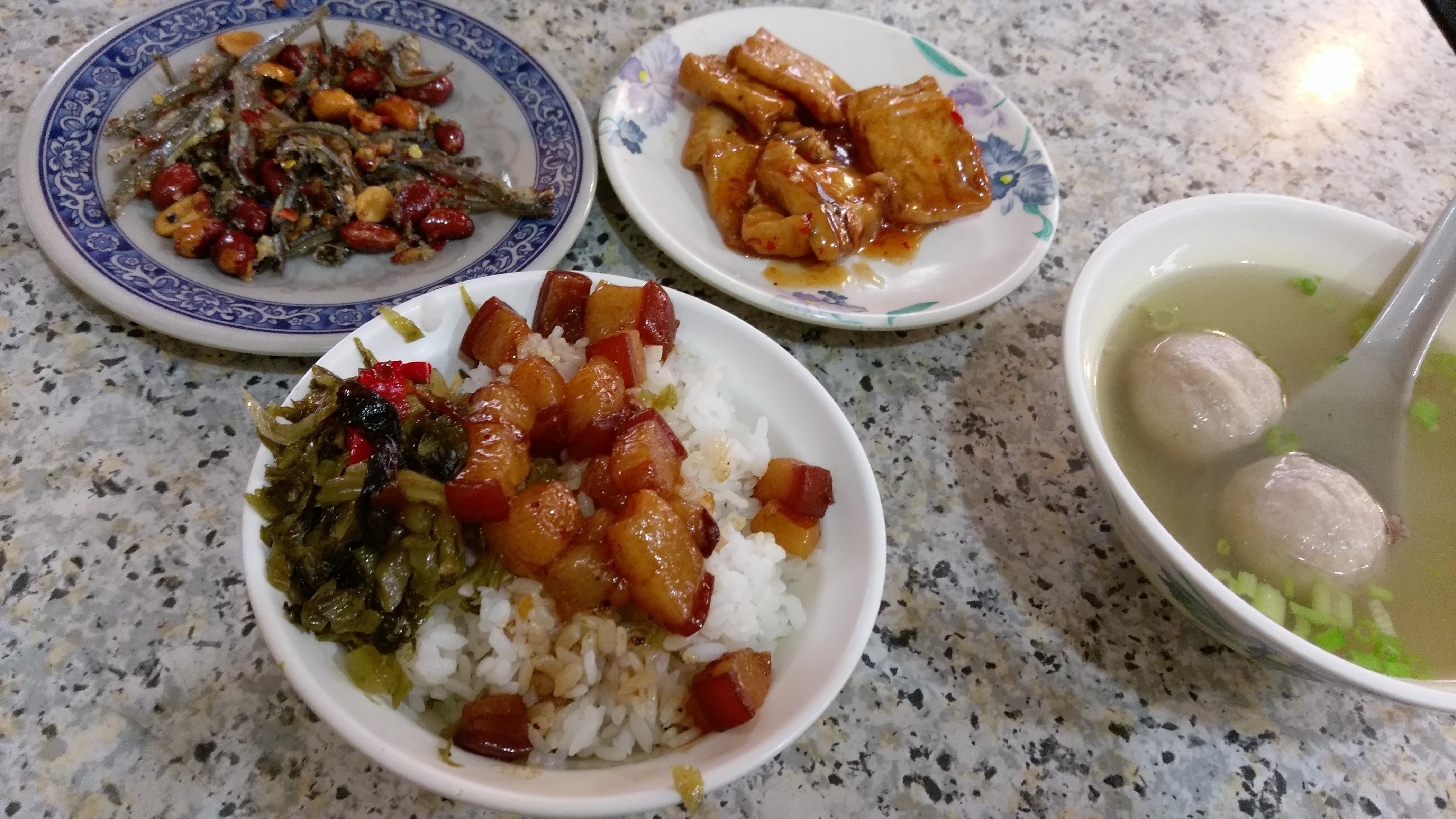 雙連捷運站 香滿園魯肉飯