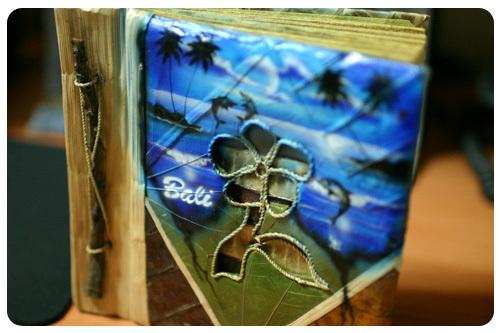 峇里島 帶回來的手工相本