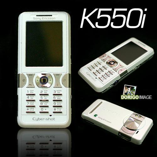 Mango 新機 Sony Ericsson K550i