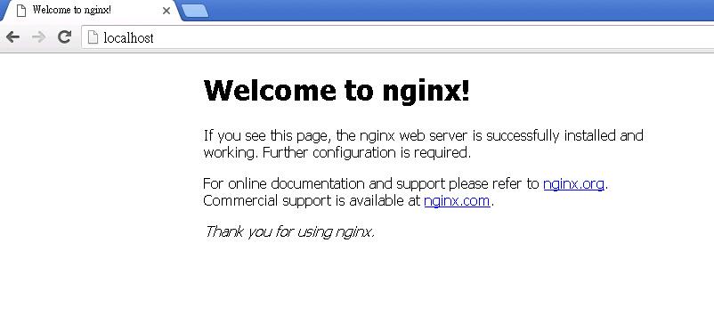 比Apache效能還要好的Nginx安裝步驟