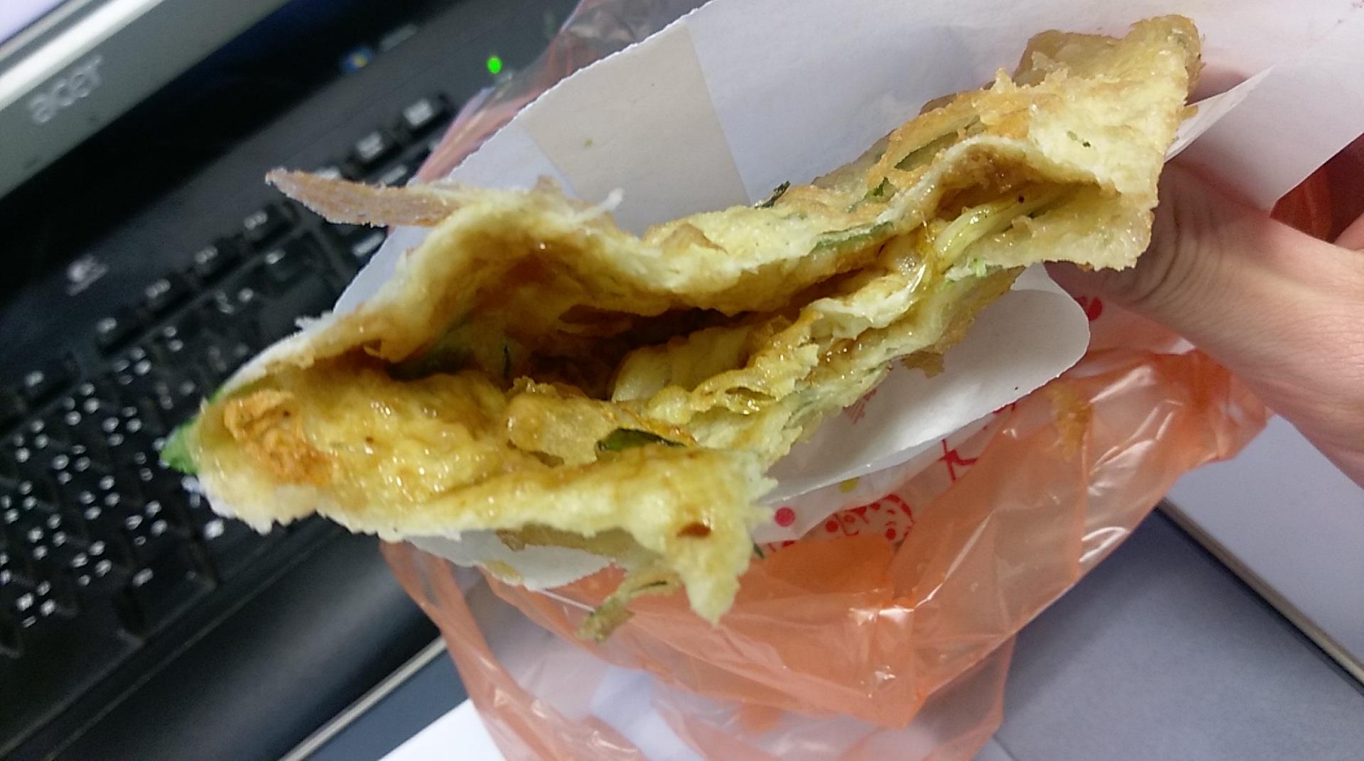 民生西路 炸蛋蔥油餅
