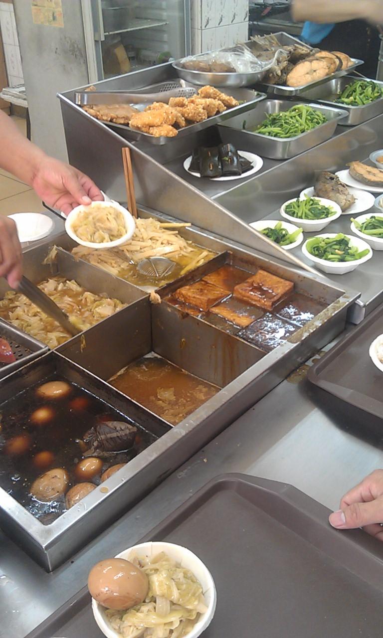 雙連街美食 滿庭香魯肉飯