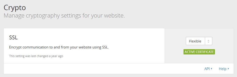 WordPress如何使用CloudFlare免費SSL服務