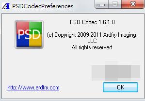 Windows資料夾下 Photoshop PSD AI 文件預覽 (支持32、64 win7系統)