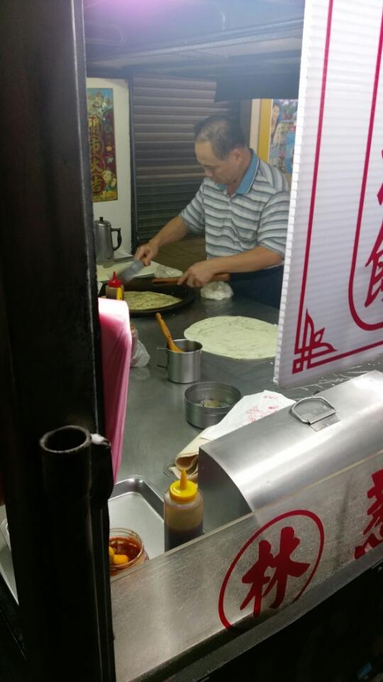土城延吉街(林)蔥油餅