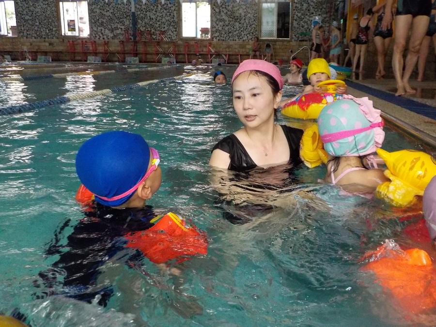 土城北城室內室外溫水游泳池