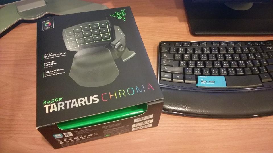 Photoshop專用鍵盤-Razer Tartarus Chroma
