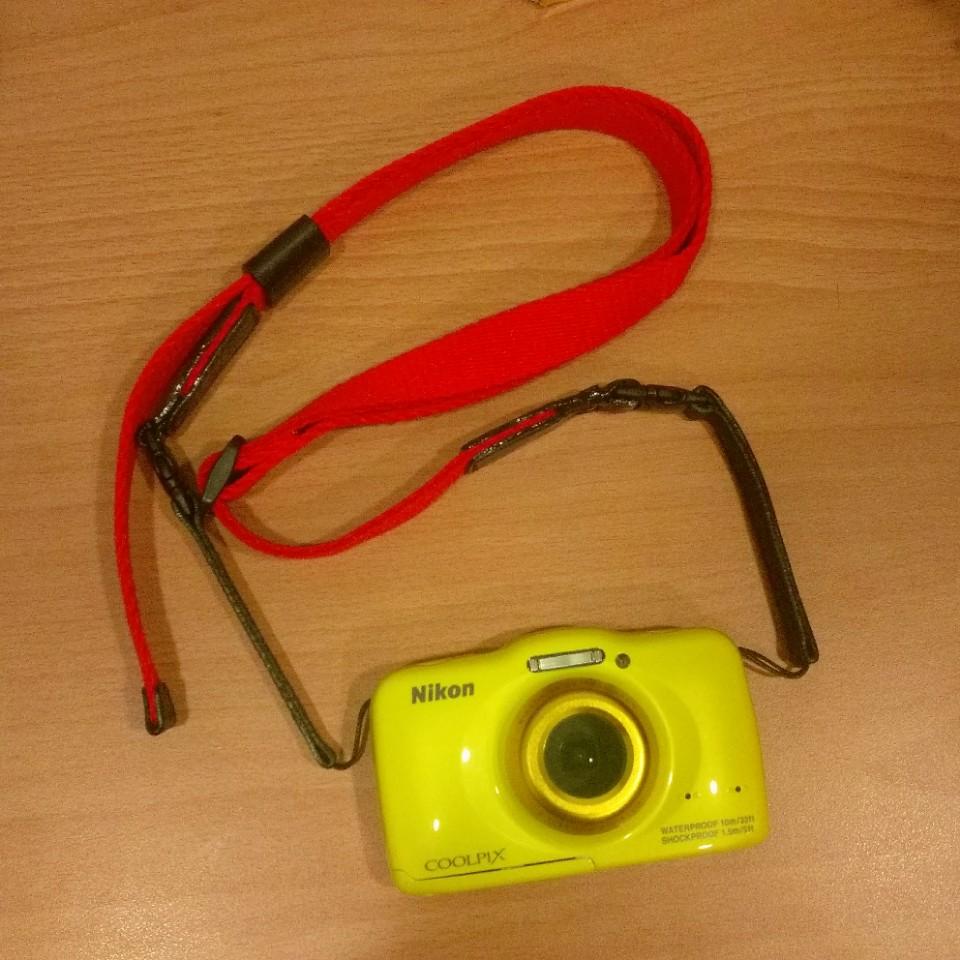 CAM-IN 可調式細繩 小朋友相機背帶