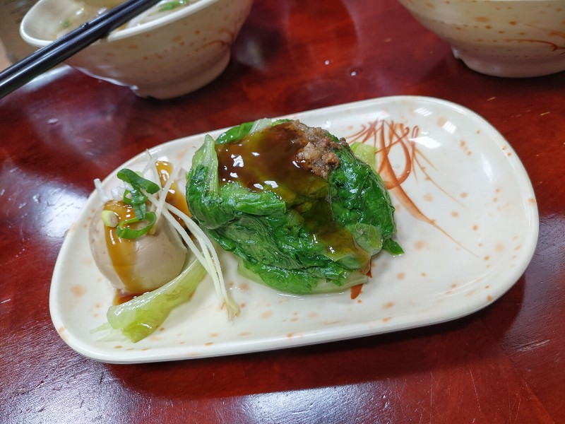肚子好餓!小辣椒魷魚羹美濃板條