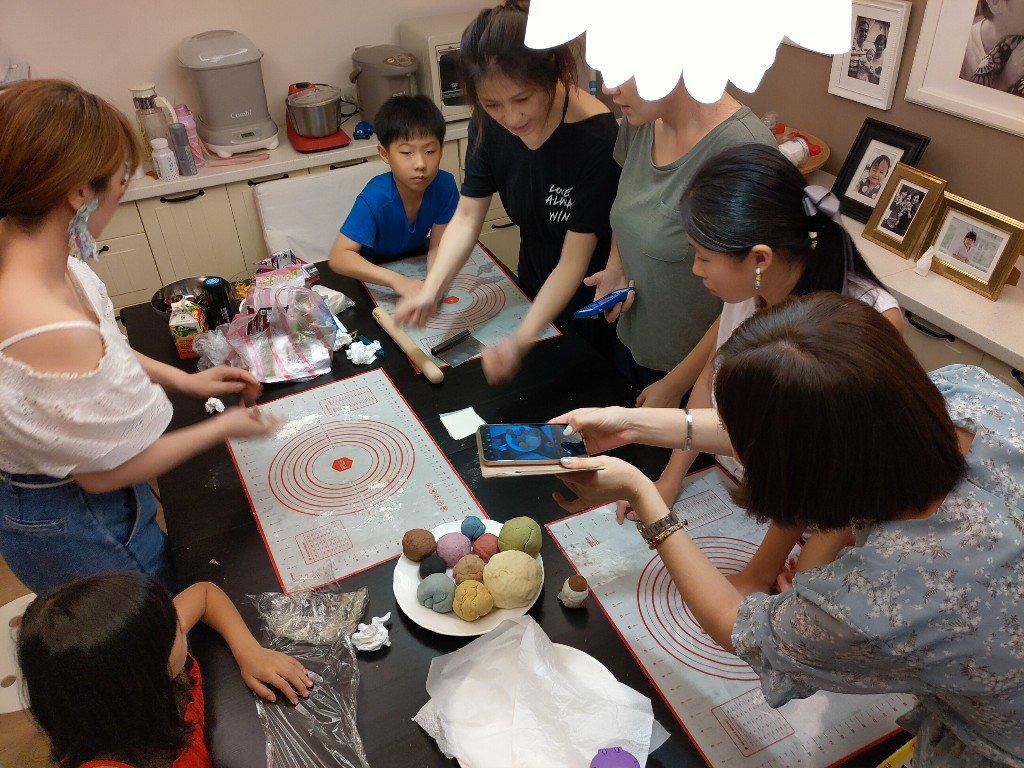 Ehco媽媽教室 可愛角落生物饅頭製成術