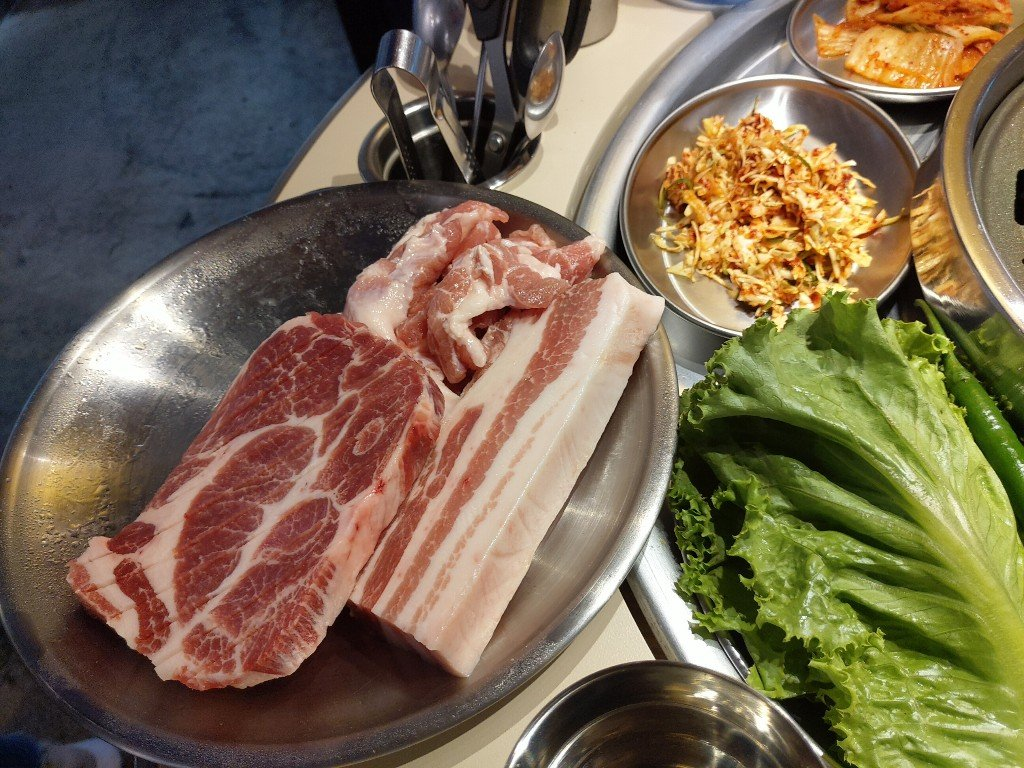 西門町慶生 8292 韓國烤肉初體驗