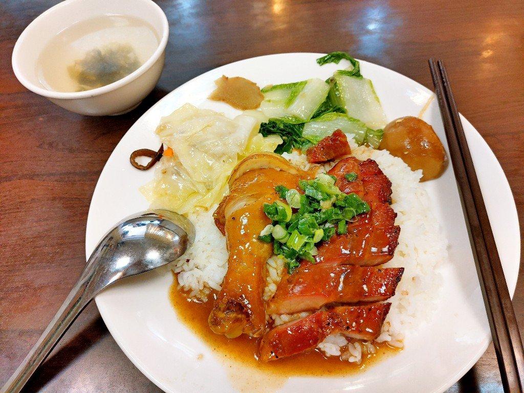 雙連街美食 香港品香燒臘店