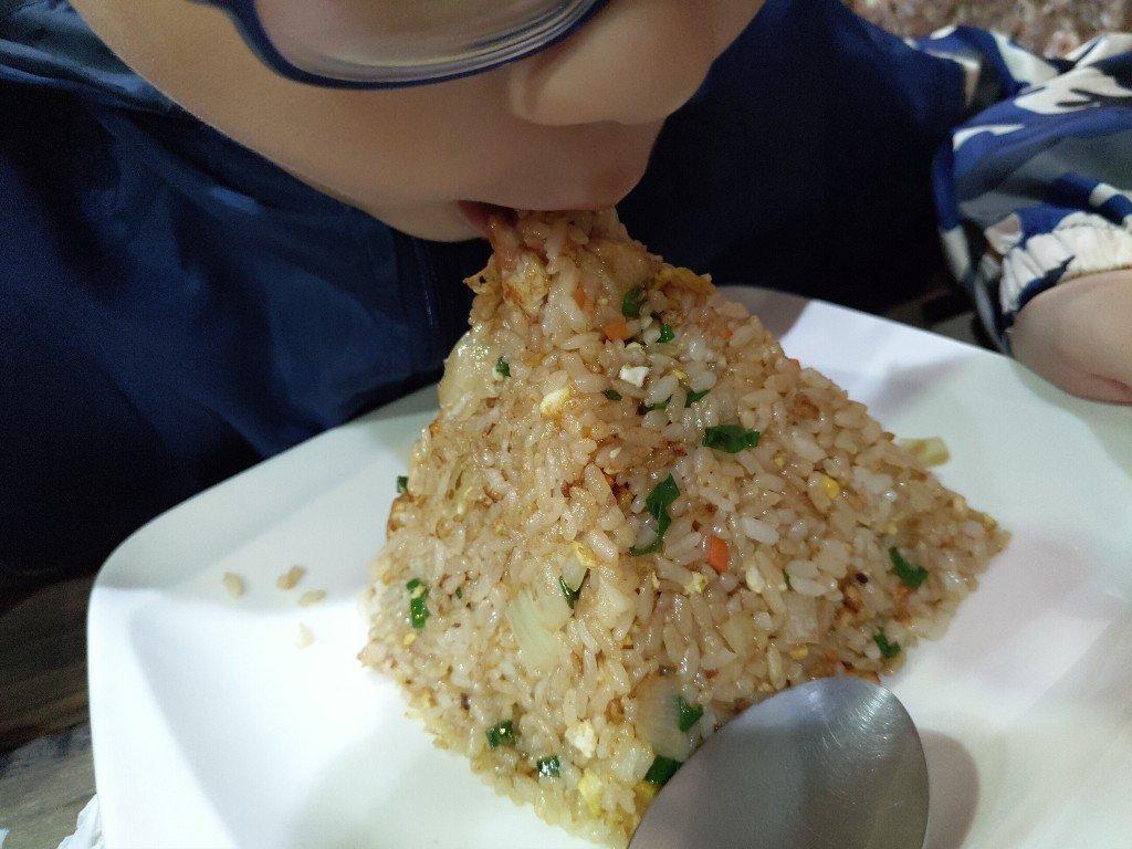 優雅吃快炒!土城 二哥廚坊 金字塔炒飯