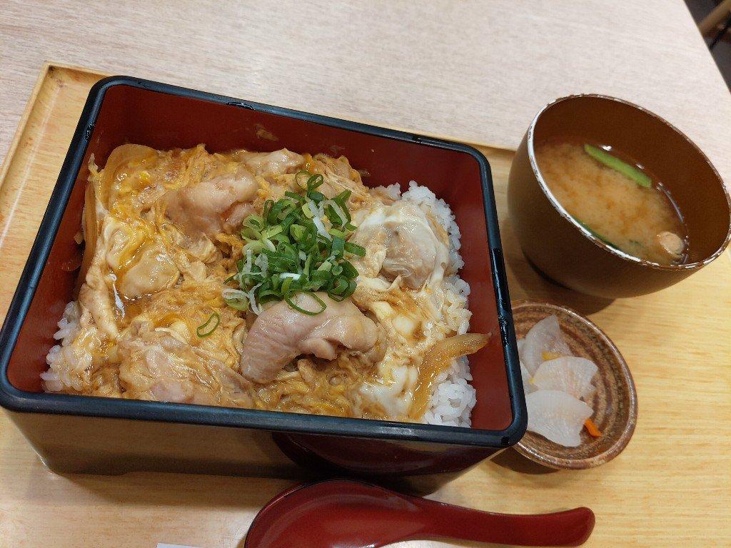板橋車站戶外露台彌生軒日式定食