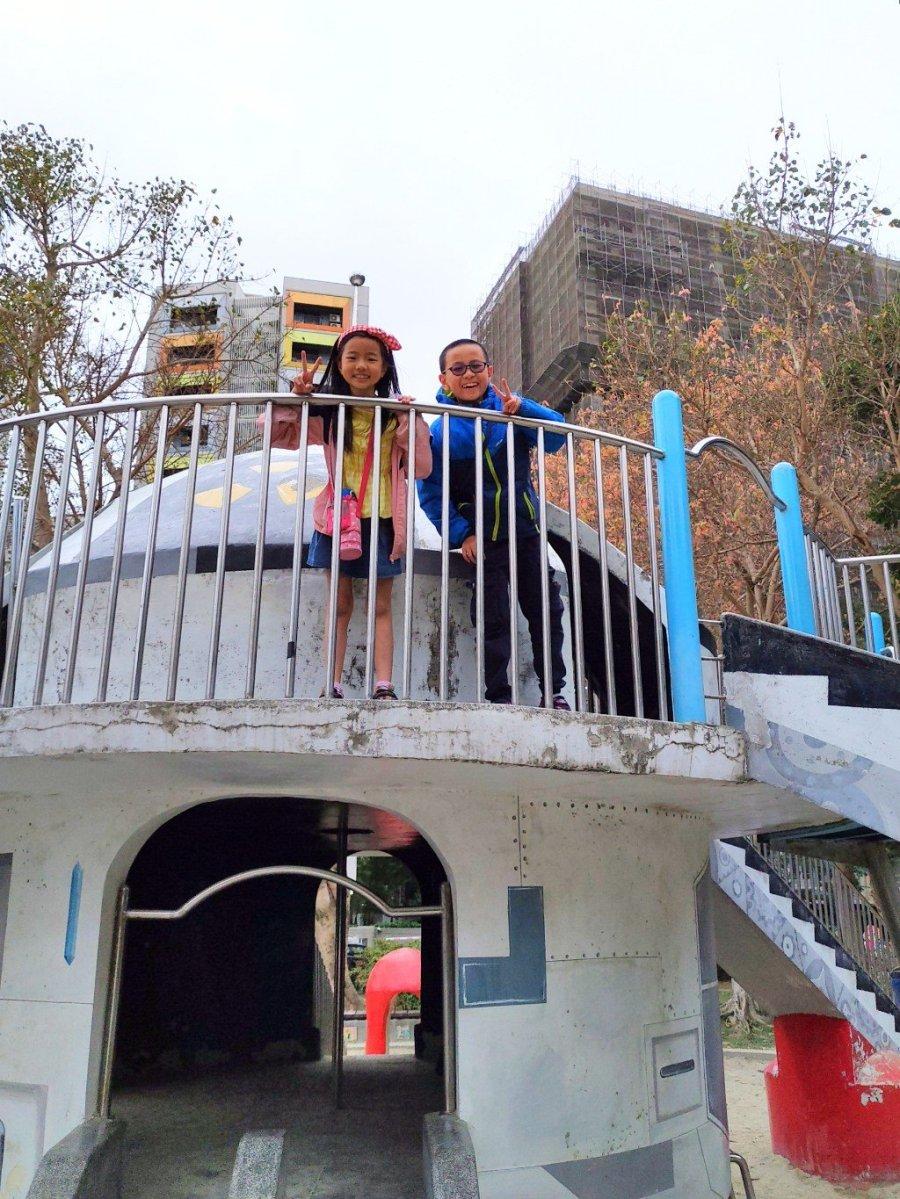2021新體驗!台北萬華青年公園太空堡壘