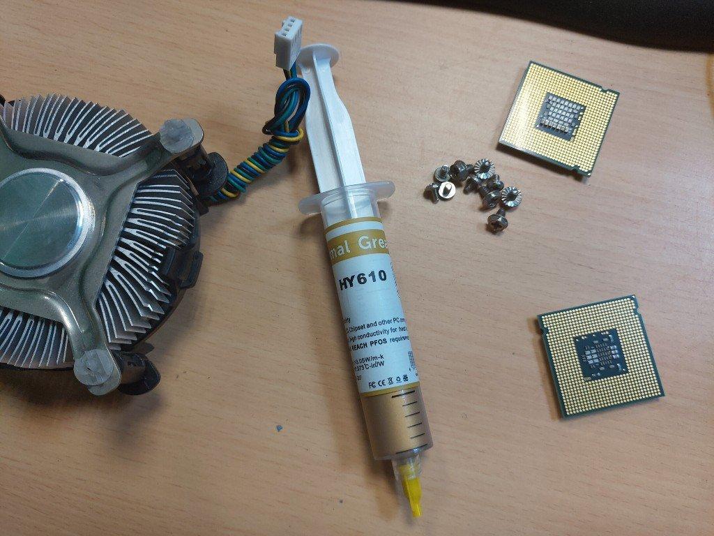 讓電腦涼快一下!黃金矽脂CPU散熱膏-HY610