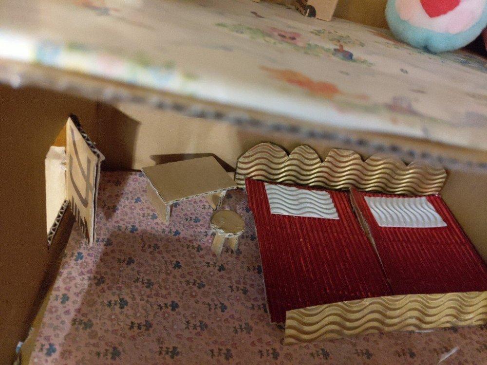 親子動手做!用紙箱做模型娃娃屋