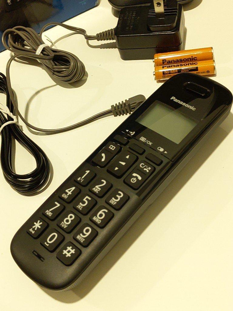 只要一台好看又方便!Panasonic DECT數位無線電話