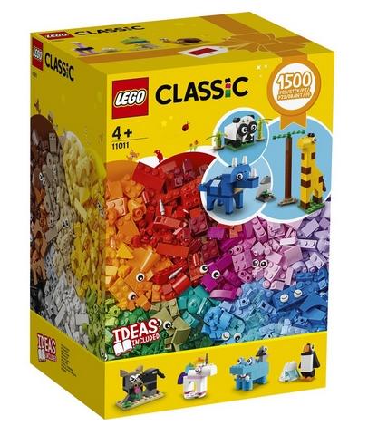 樂高10717超值盒組Classic多色1500片入手